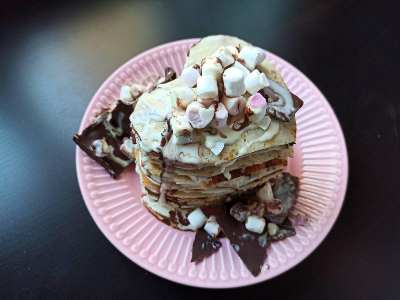 palačinkovy dort